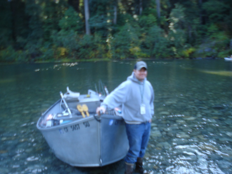 JON SMITH  HOLDING MY BOAT