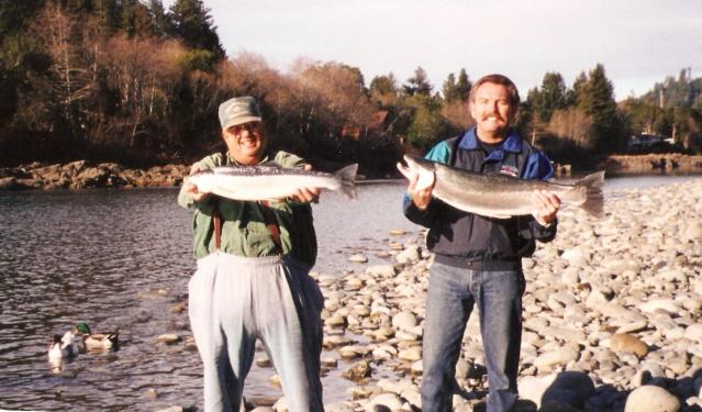 CLIENTS STEELHEAD FISHING
