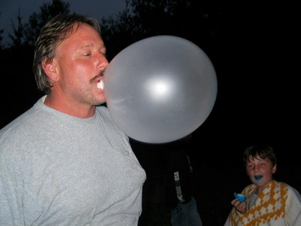 ME    BIG BUBBLE HUH