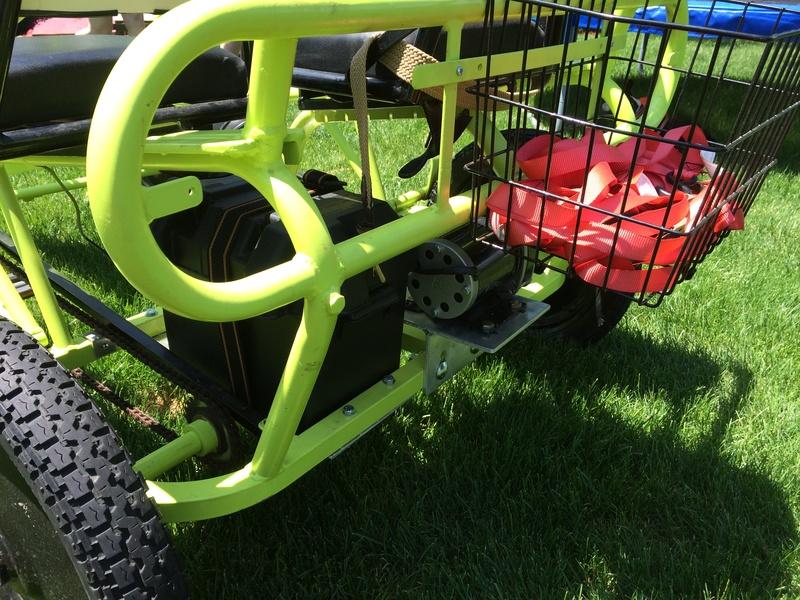 Thomas' great cart (36v600w brush trike kit)