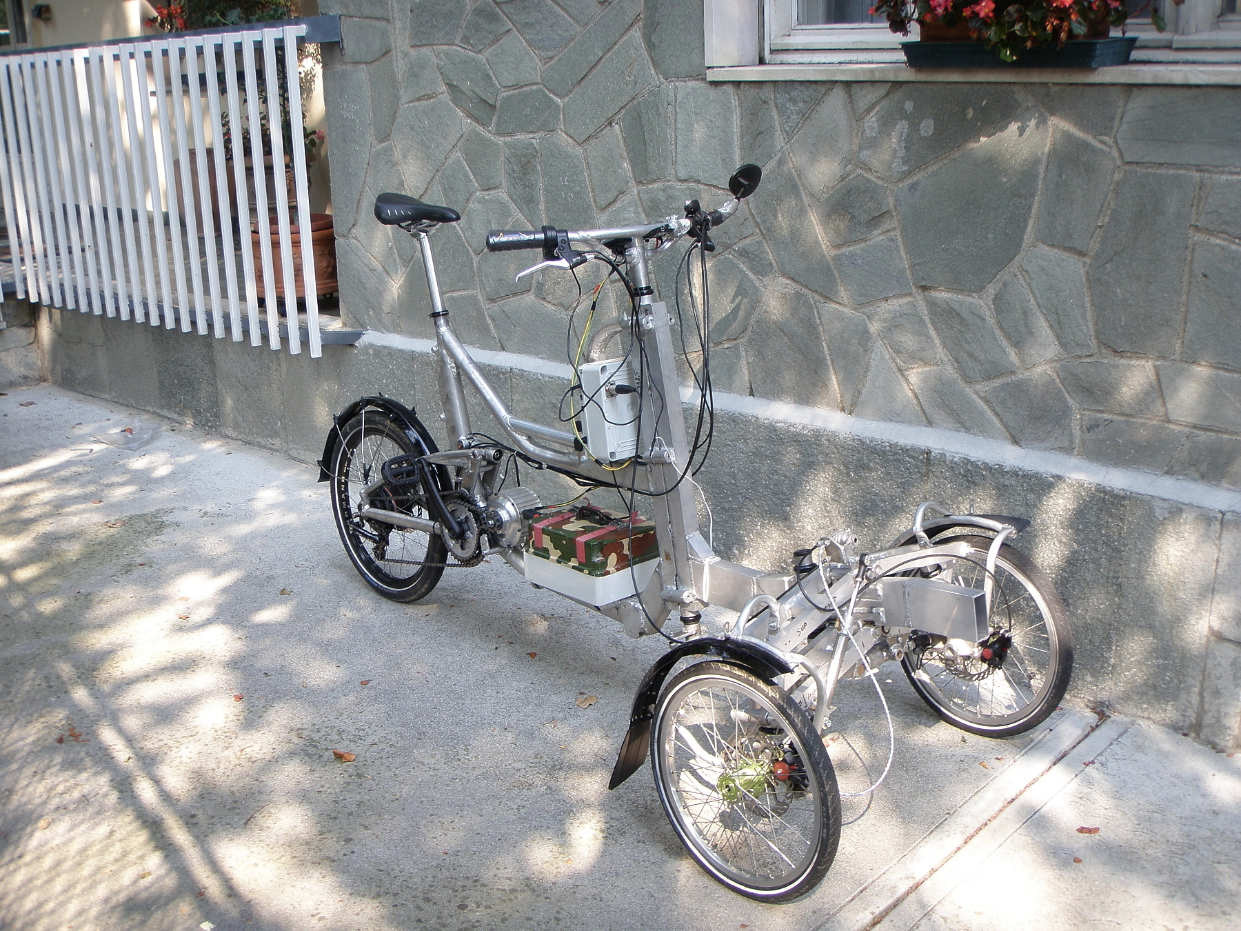 Paolo Ganio Mego's great trike  from Italy