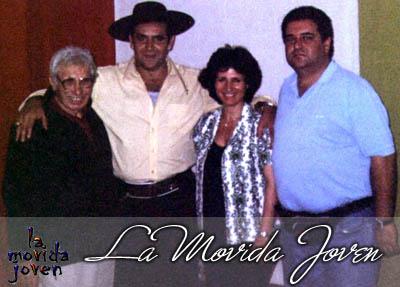 CON ELCHAQUEÑO,CAMBARE Y MARIA MORENA