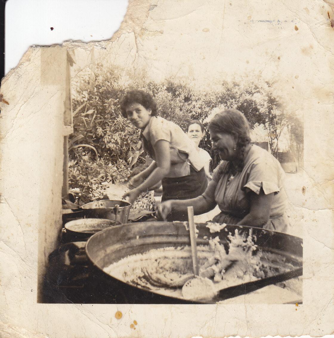 Haciendo tamales