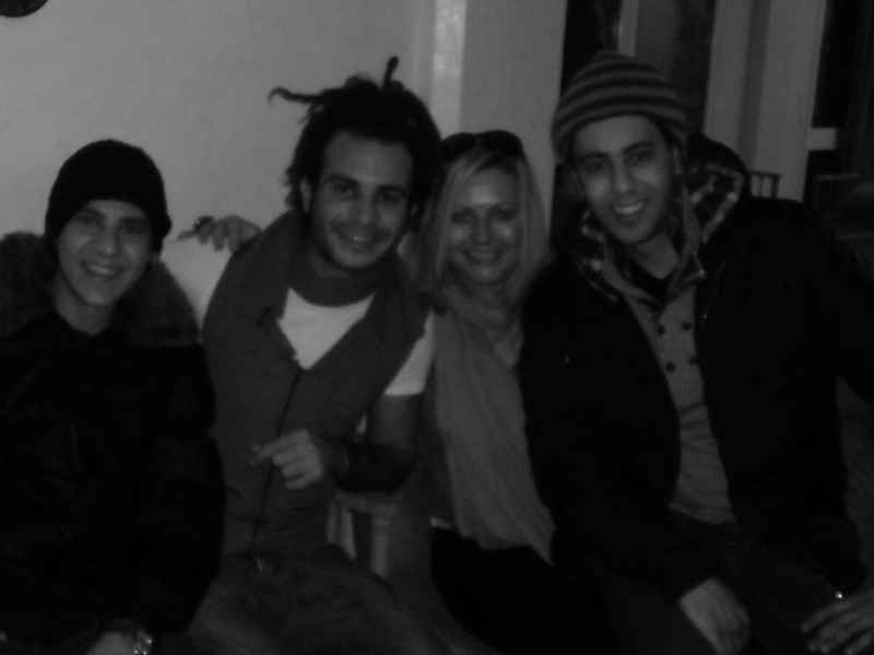 me shadi and our friends from egypt where we meet early 2012