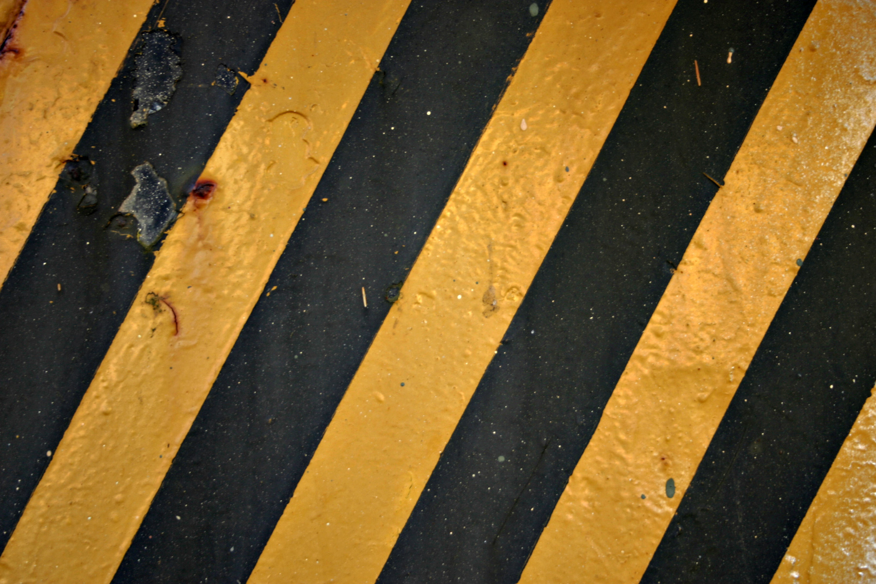 Comblack And Yellow Floor Tape : Black and Yellow Caution Stripes