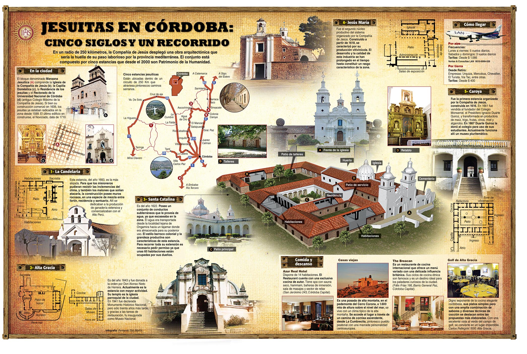 Jesuits in Cordoba: five centuries and a tour