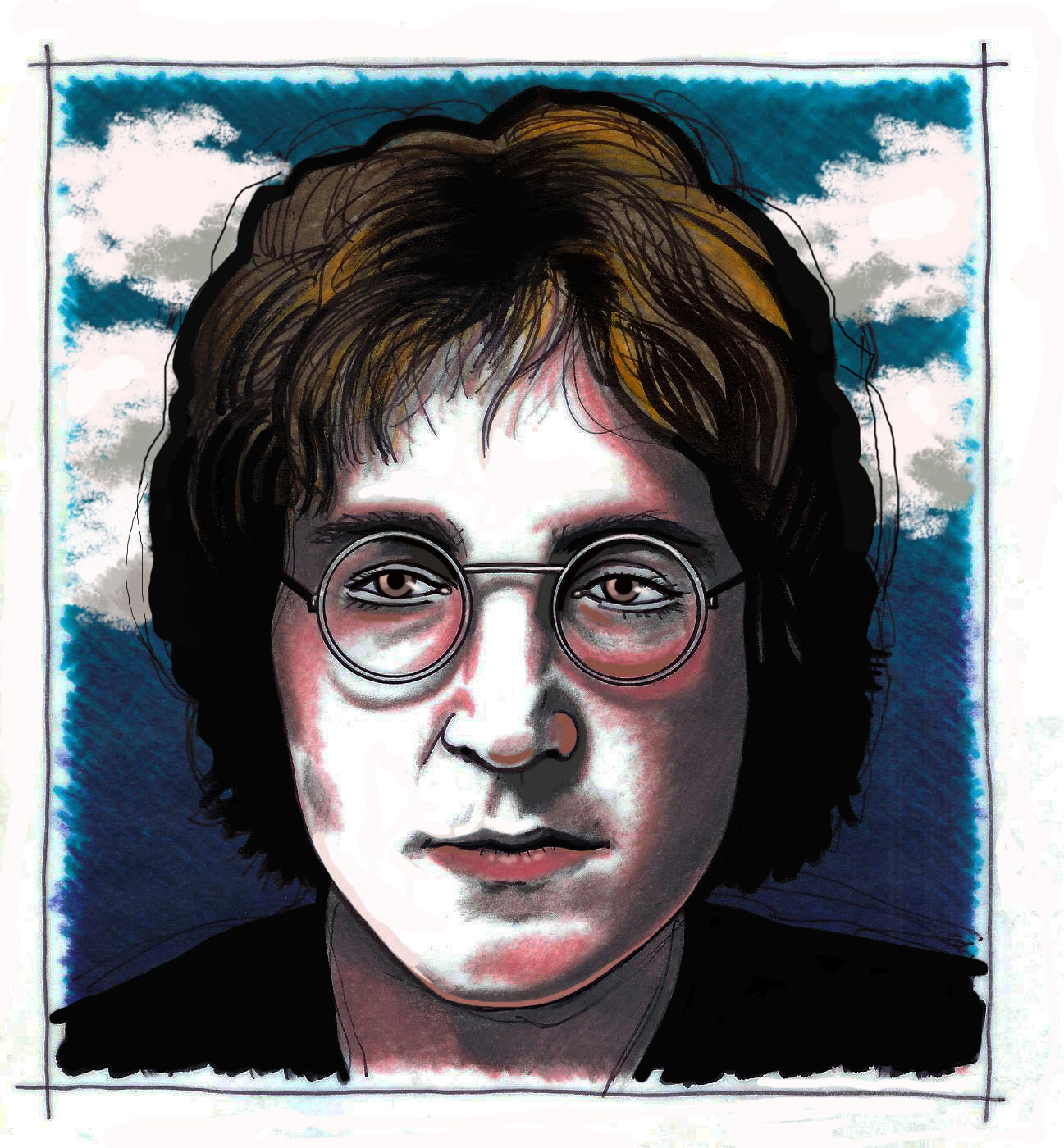 essay imagine lennon John lennon is one of the most influential people in history his message of  peace, love, and happiness will forever be remembered.