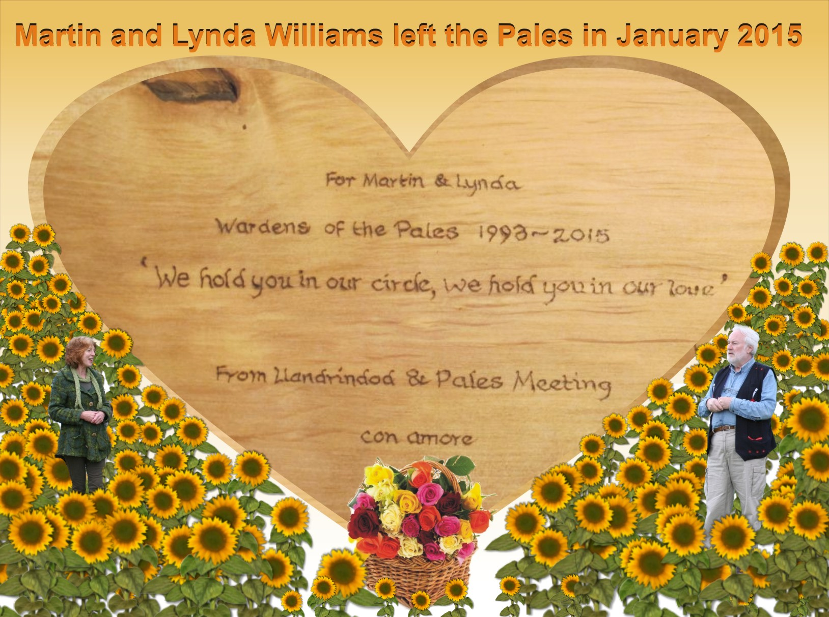 Pales Wardens retired in January 2015