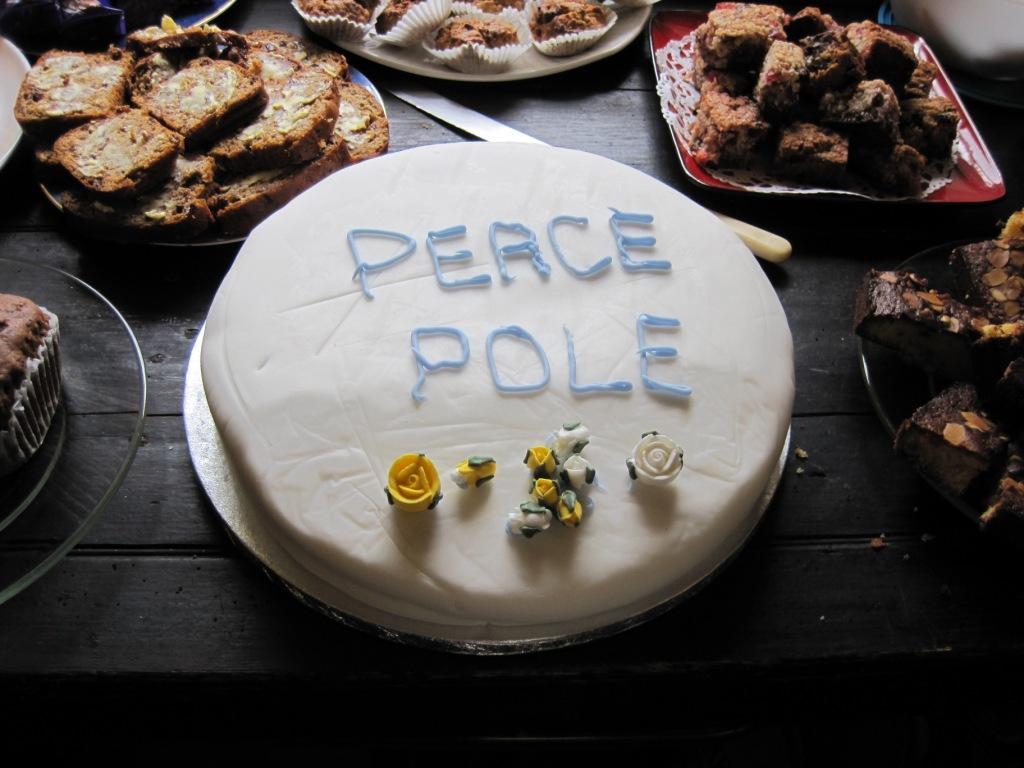 Peace Pole cake