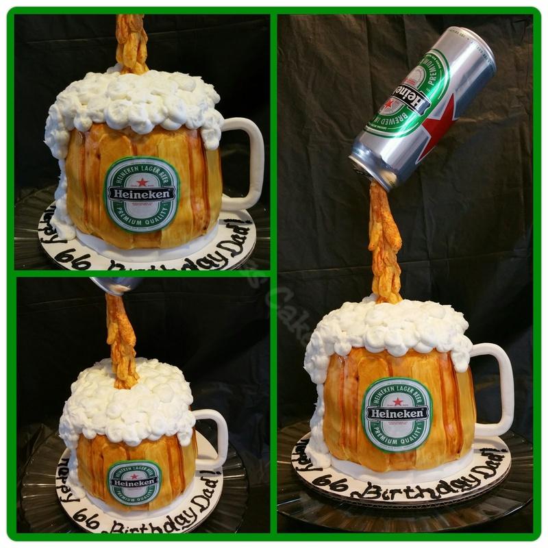 Heineken Beer Cake Details