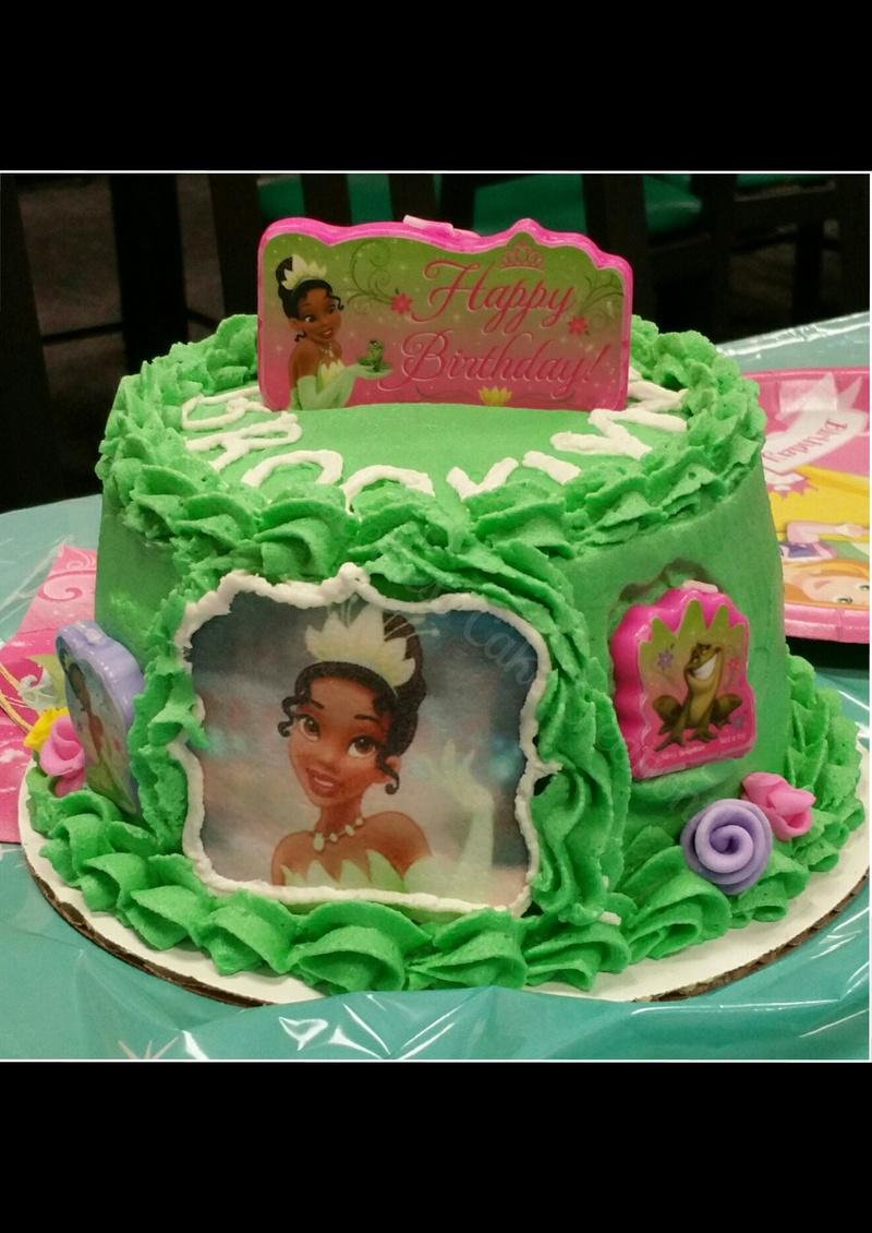 Disney Princess Tiana Smash cake