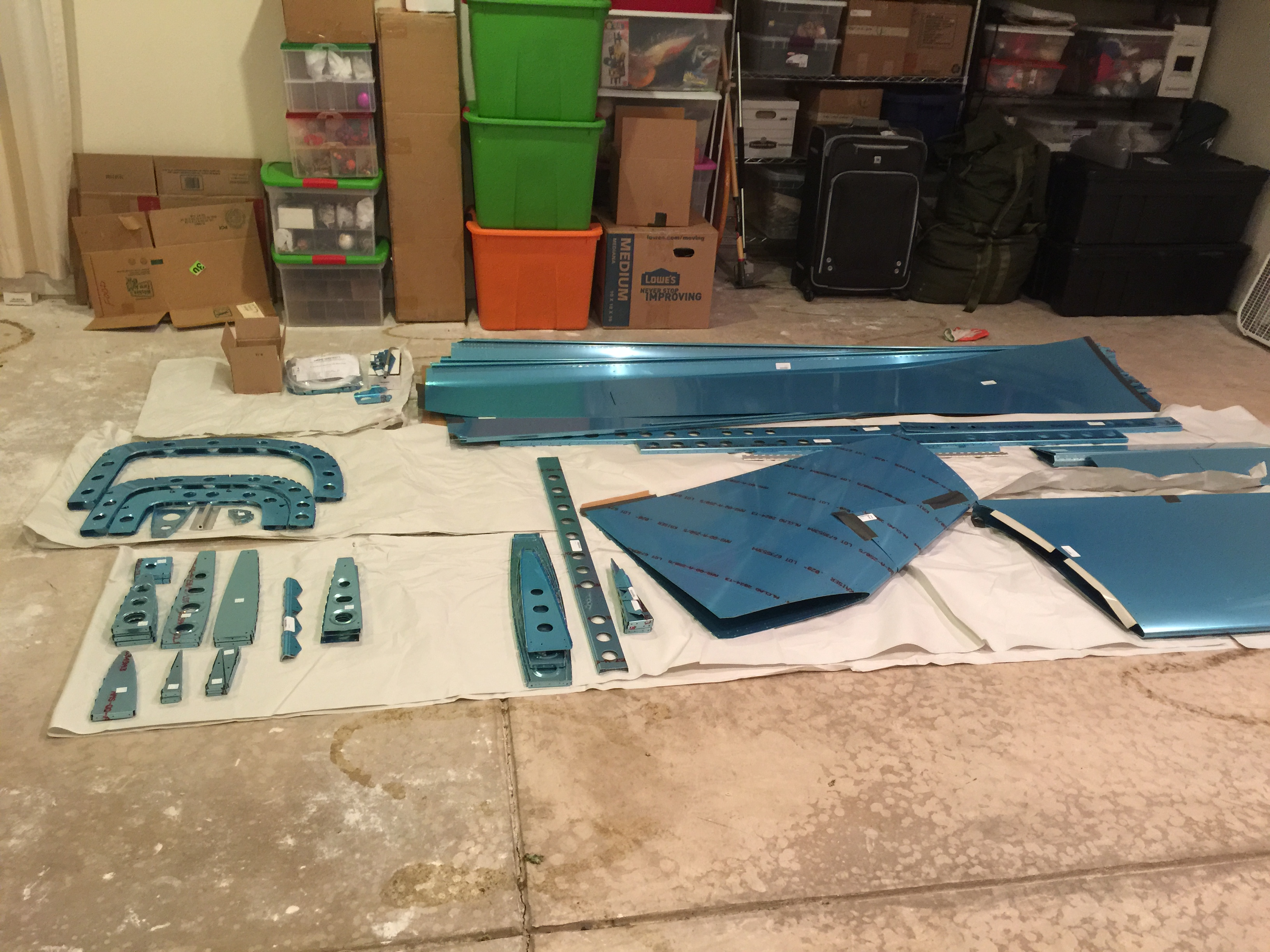 Tailcone/Empennage Parts