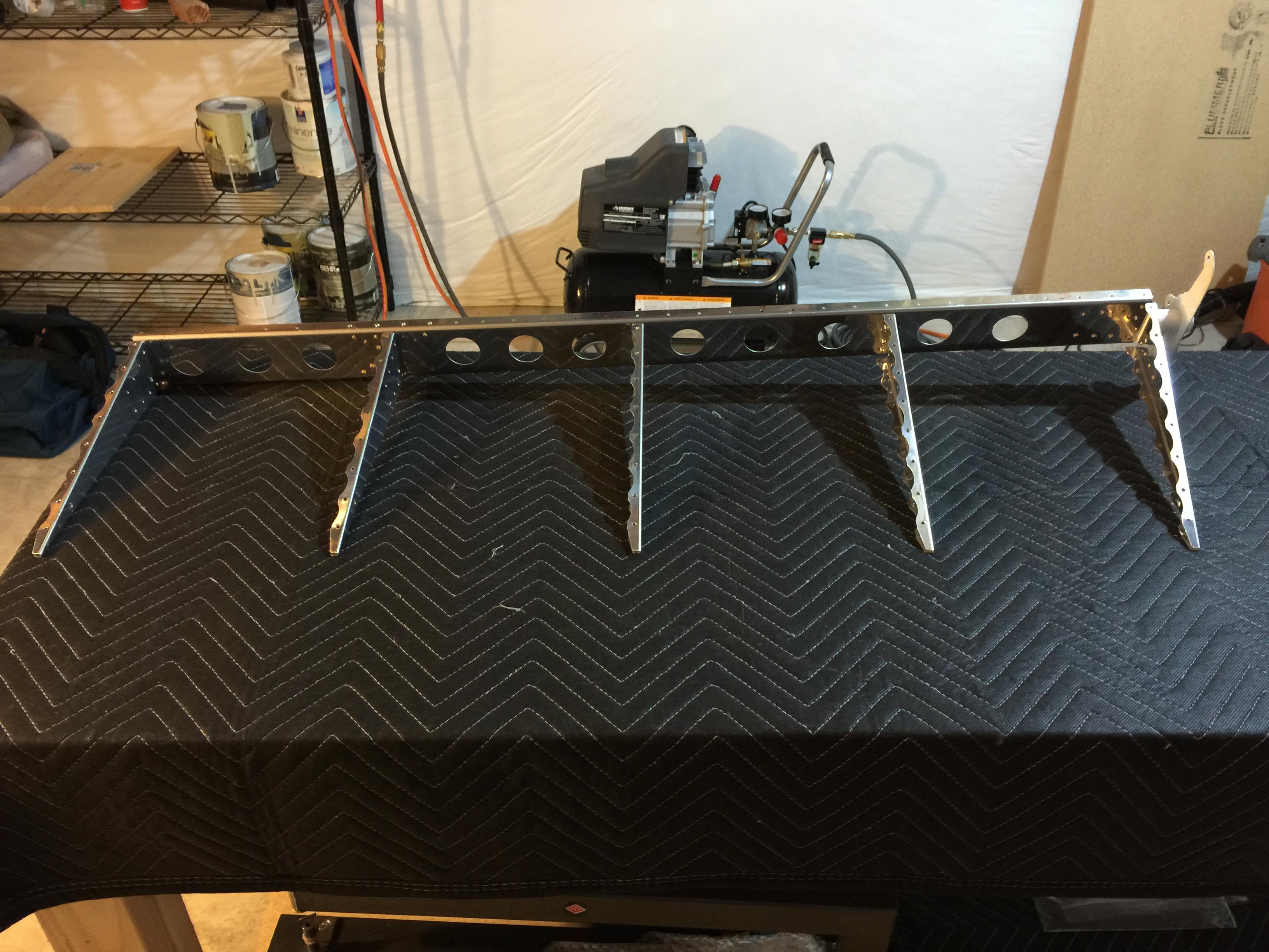 Rudder Skeleton Complete