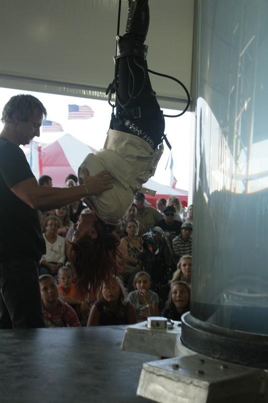 Kristen Aerial Stunt