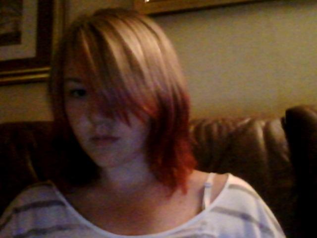 I want meh pink hair again XD