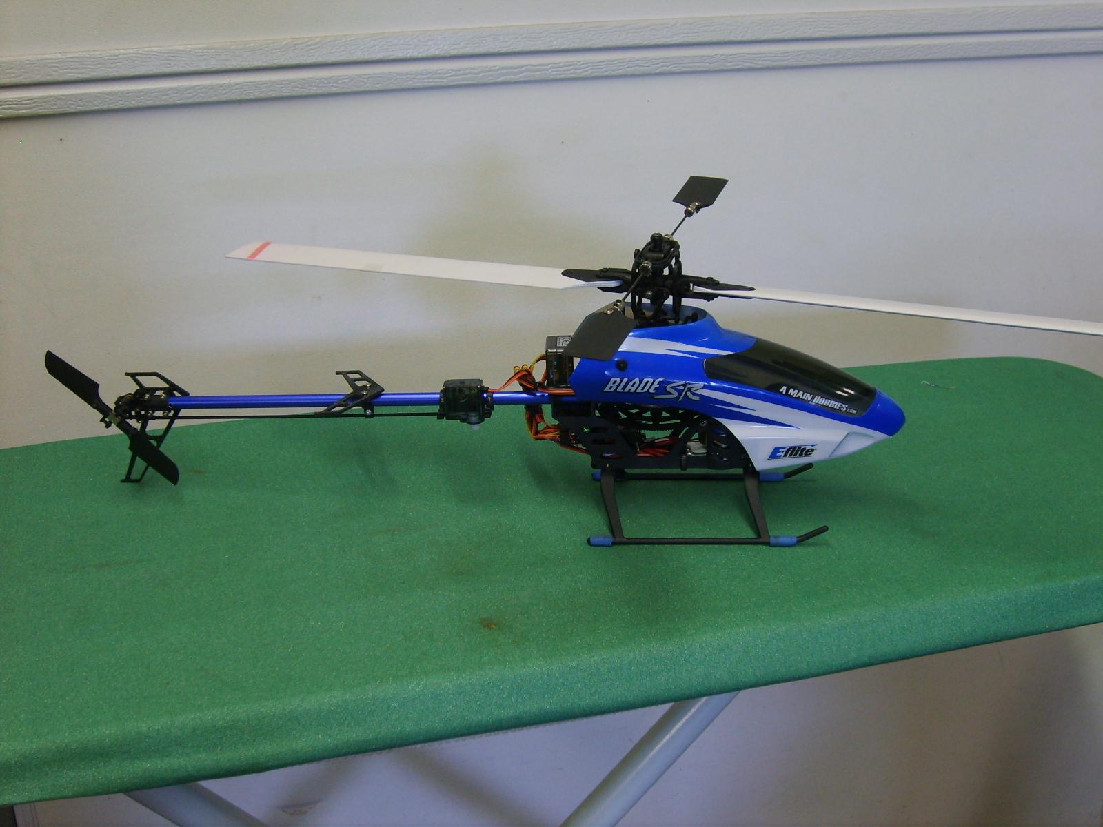 Blade SR w/Freestyle Hobby tail mod