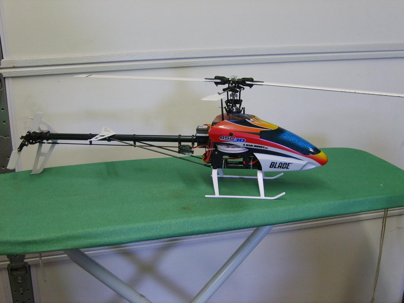 Blade 450 3D