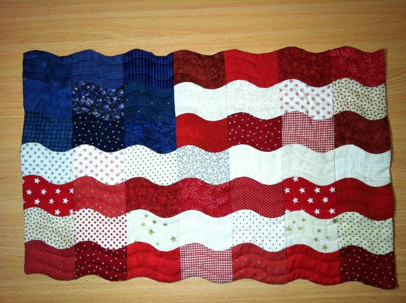 Flag Table Topper