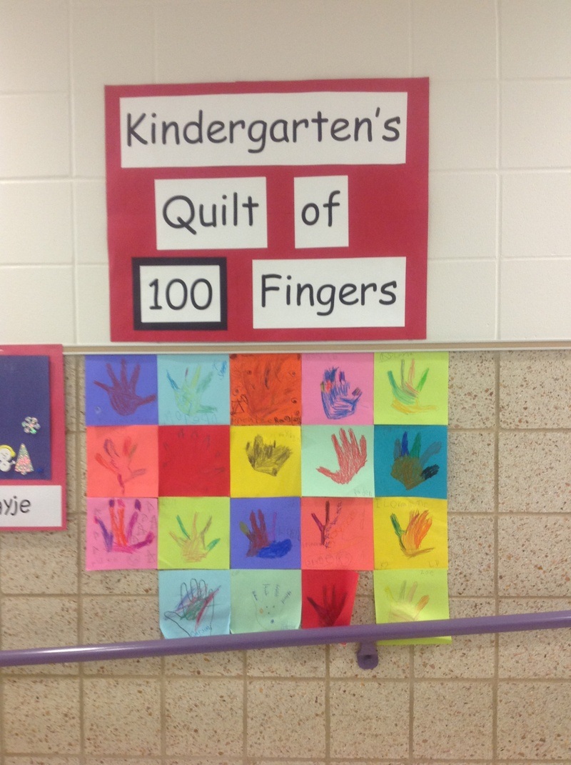 Mrs. Springer's Quilt of 100 fingers