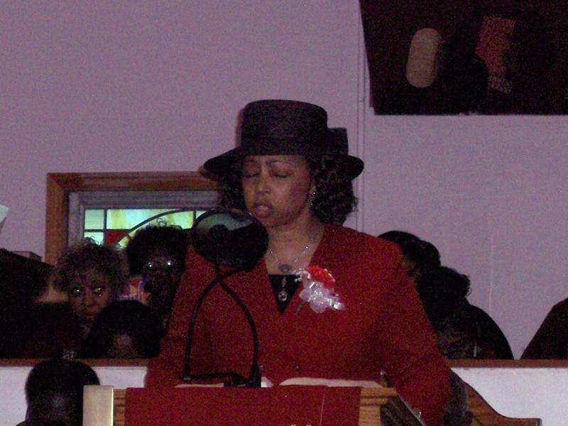 Minister D. Stevens