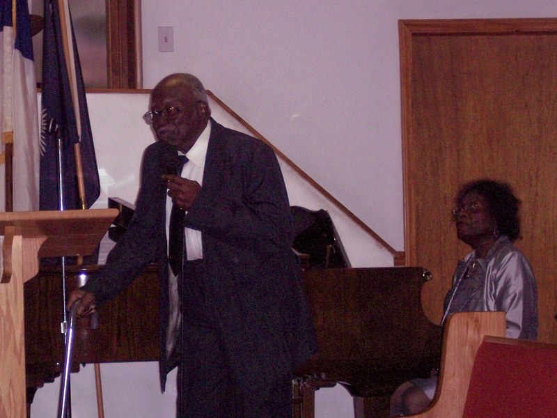 Harold Mack and Sistey Cakley Singing