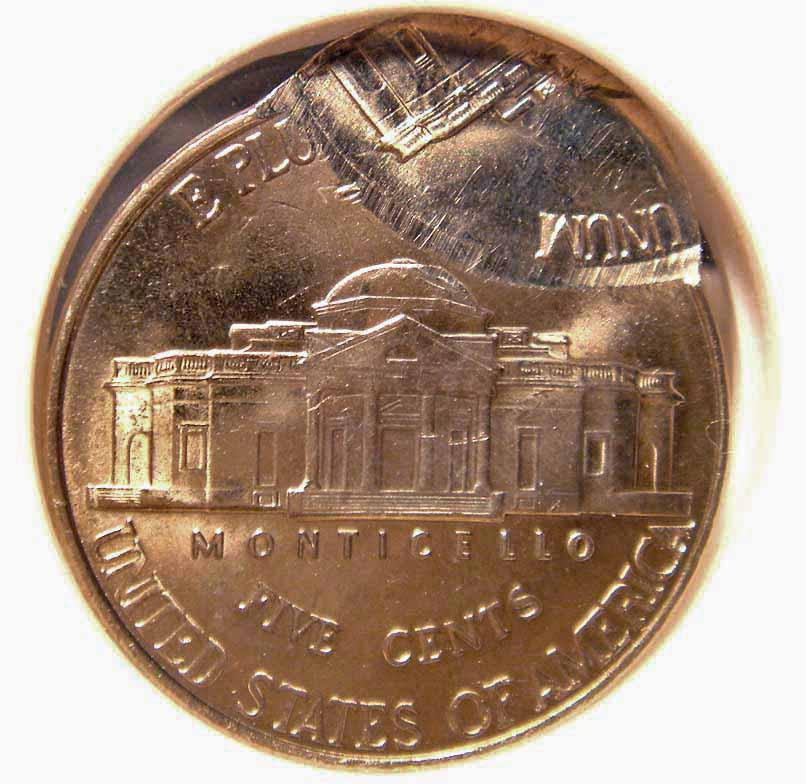 Double-Struck 1999-D Jefferson Nickel, Reverse