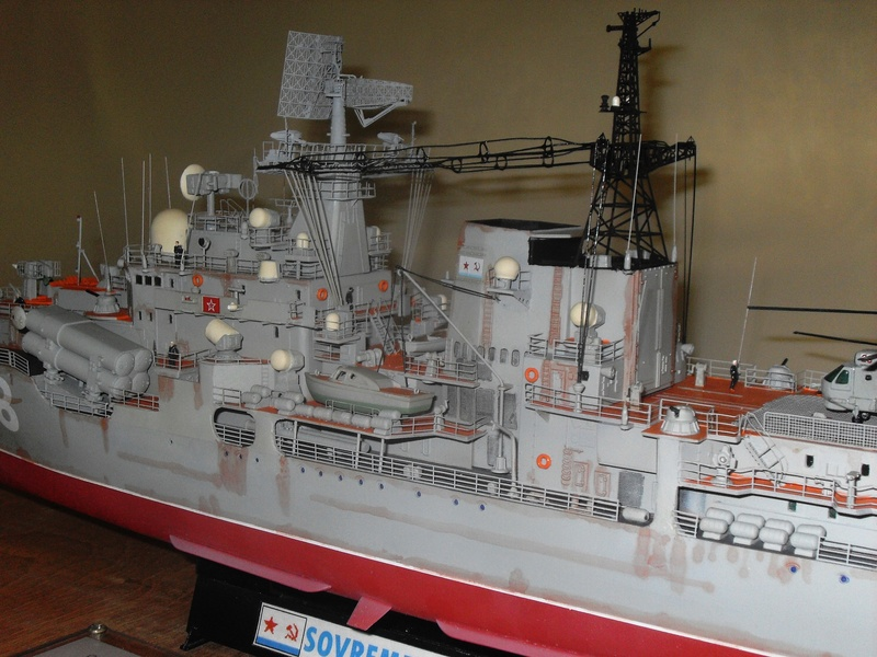 1 200 Russian Destroyer Sovremenny