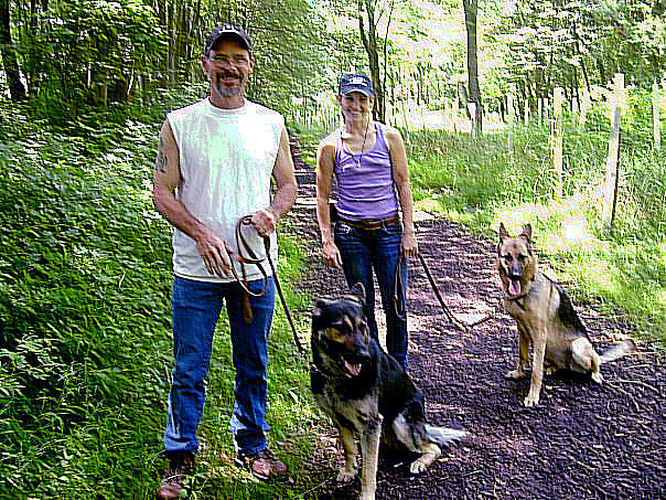 Terry and Bailey / Alexis and Foxy