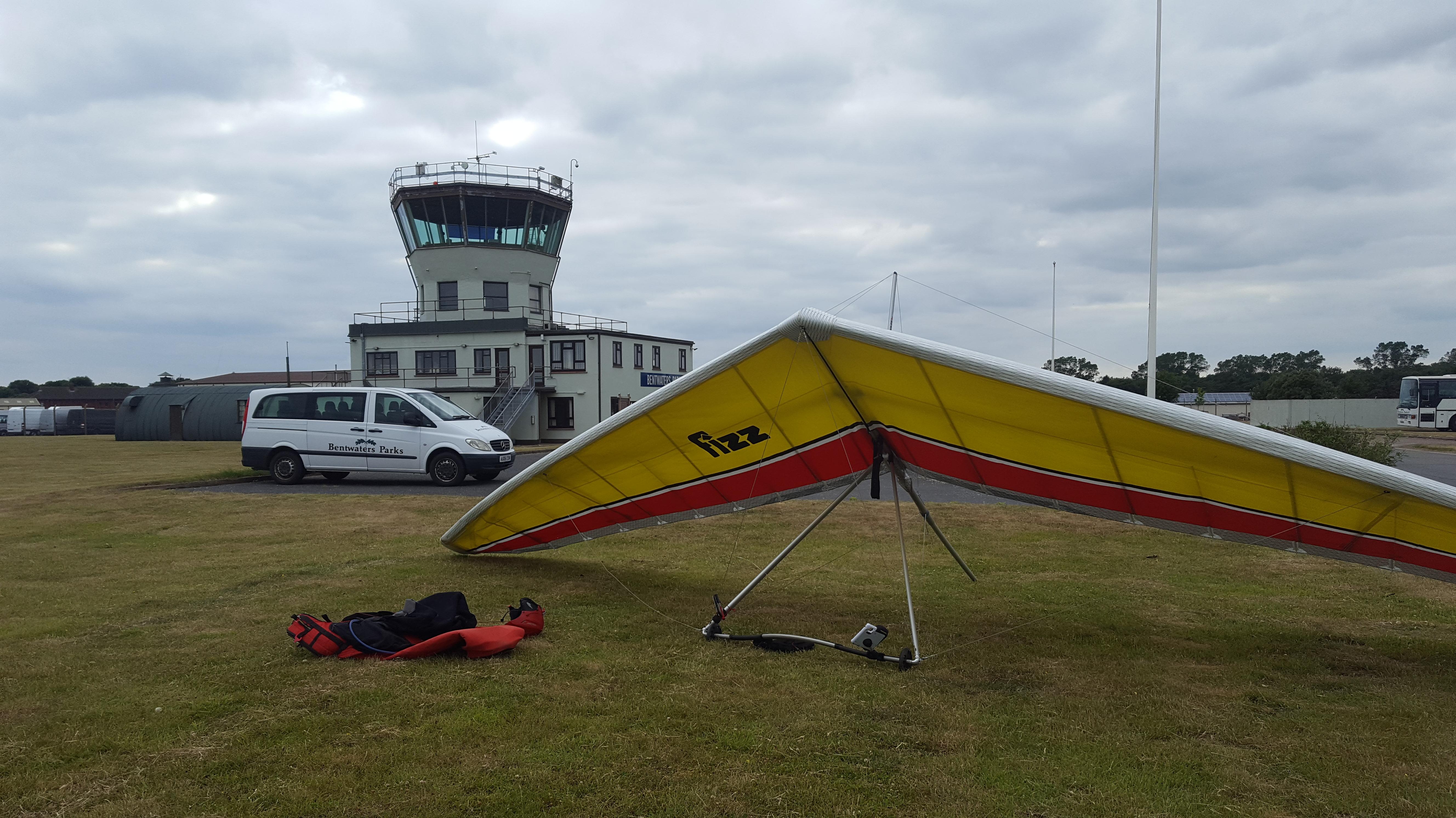 Landed at RAF Bentwalters