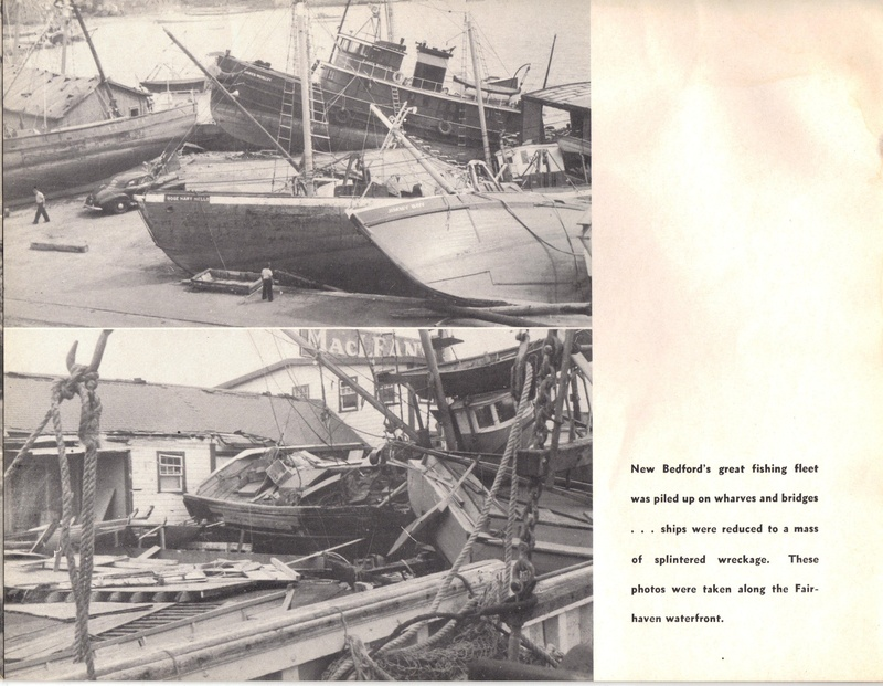 Aerovox 1954 Hurricane Carol Photo Album Page 9
