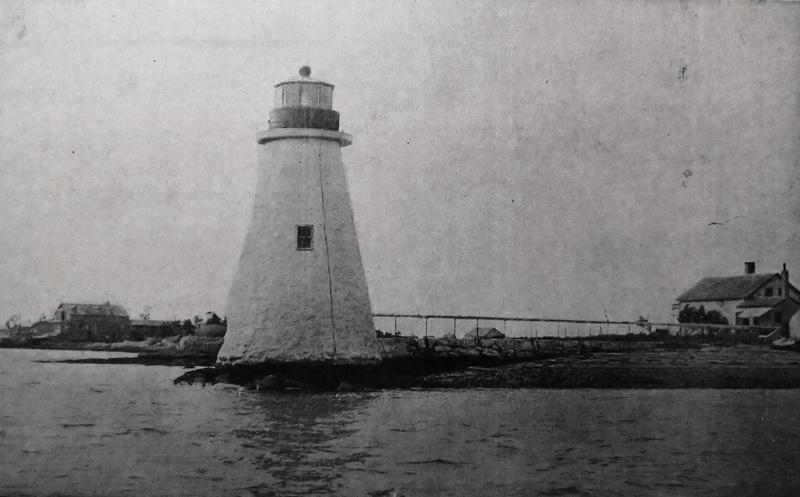 Palmer's Island Light c1919