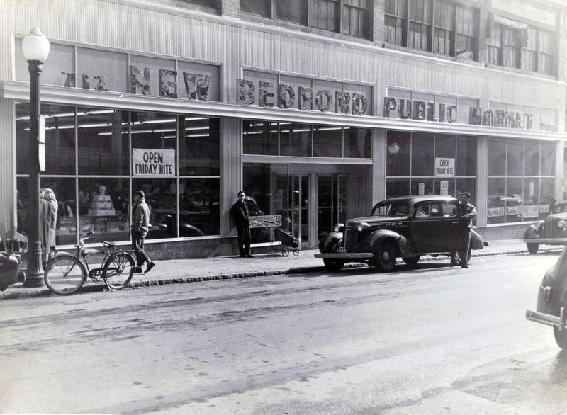 New Bedford Public Market c1940