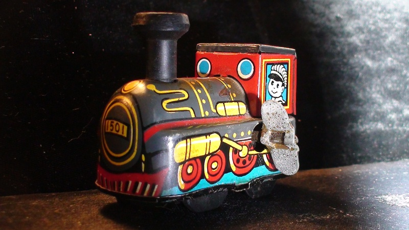 Little Train Toy from EDAVILLE RAILROAD
