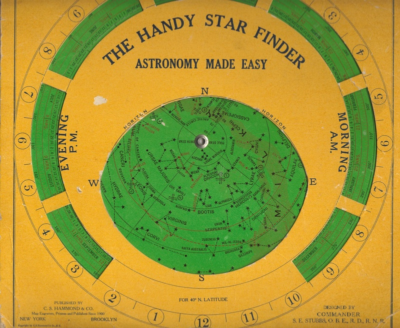 The Handy Star Finder Volvelle Chart