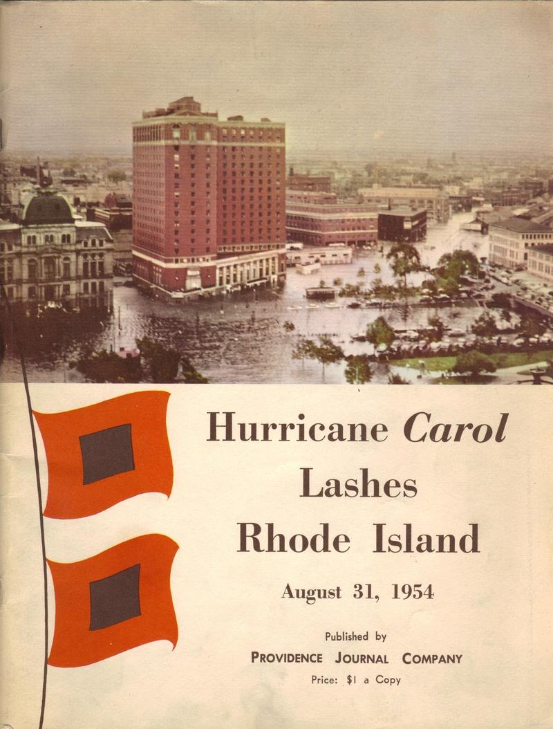 Hurricane Carol Lashes Rhode Island - westislandweather com