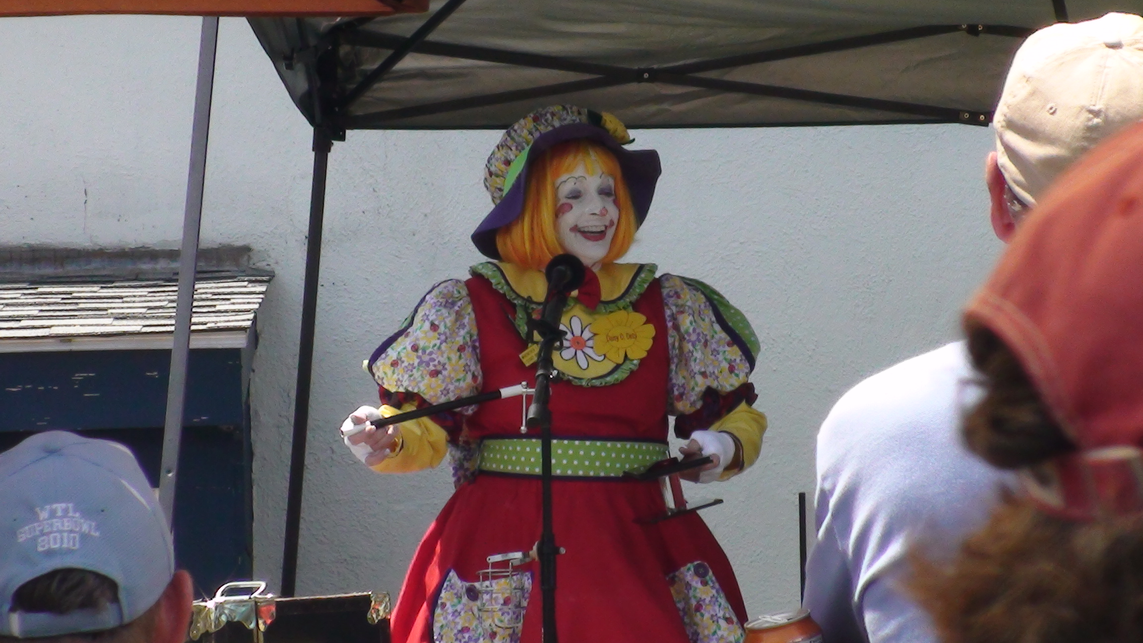 A Clown with a smile