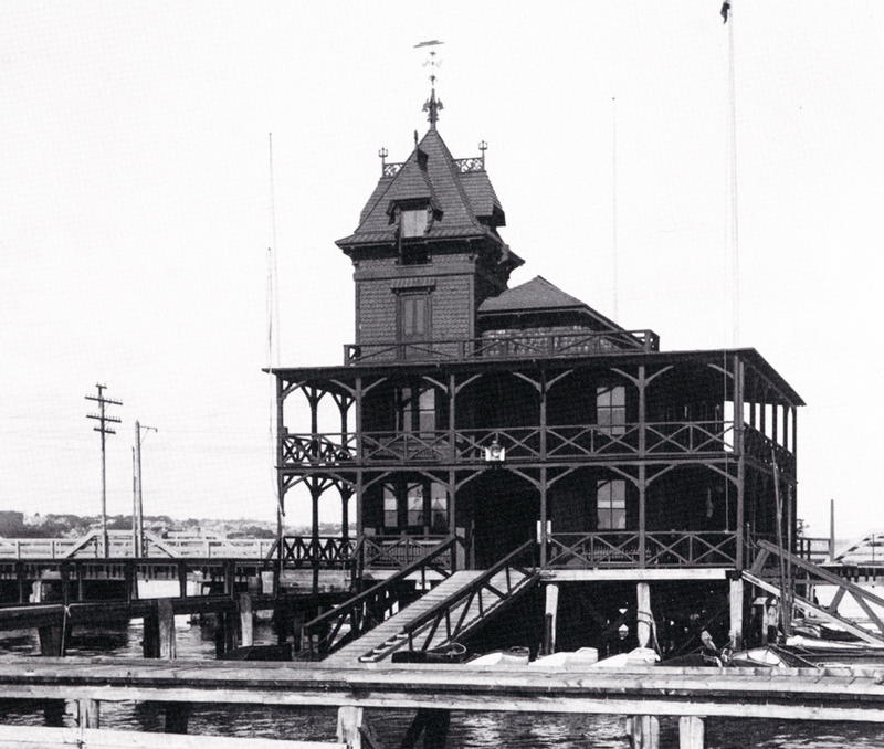 New Bedford Yacht Club c1915