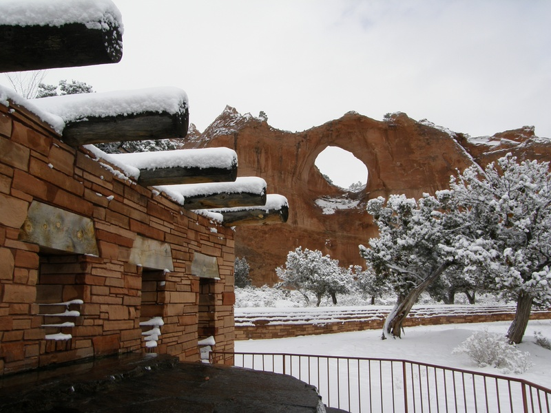 In Window Rock Az, 2nd Snowfall