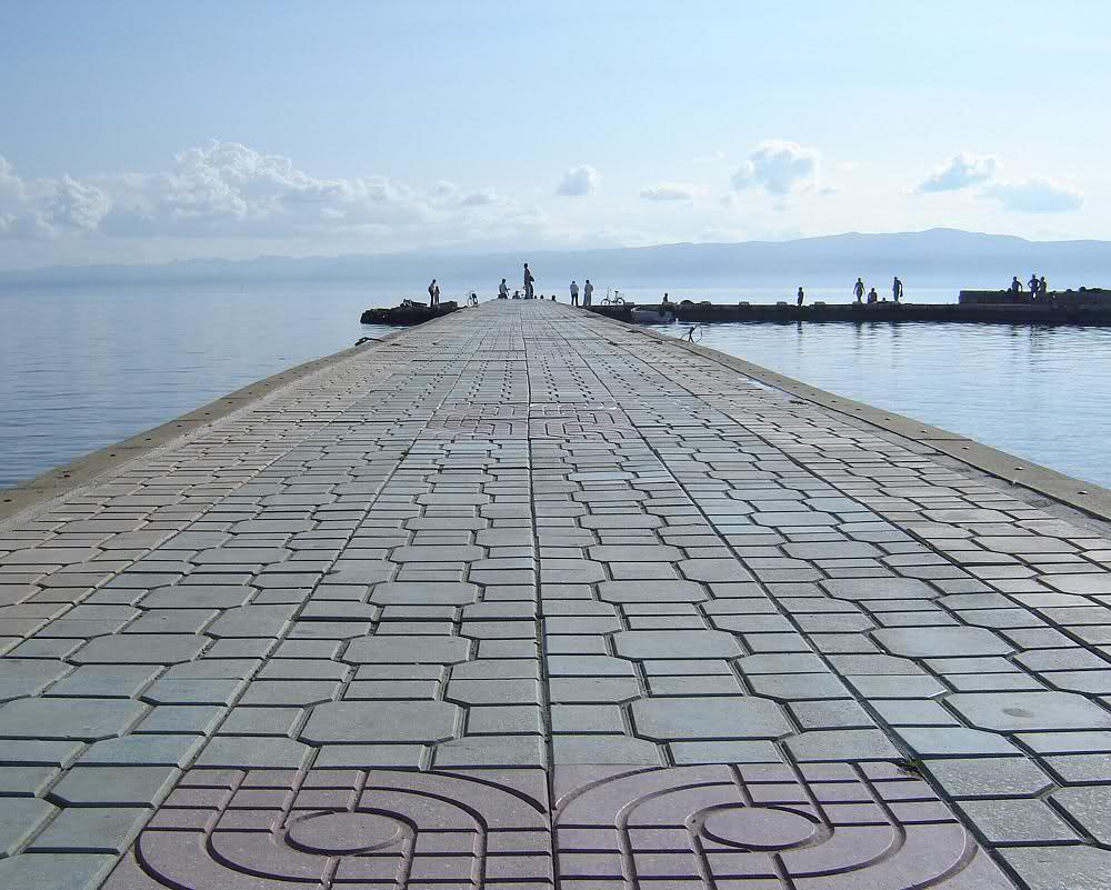 Ohrid Downtown Quay