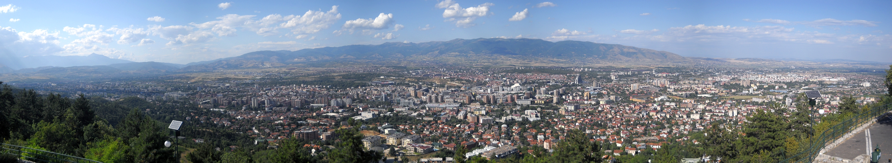 Panorama - Skopje, Macedonia