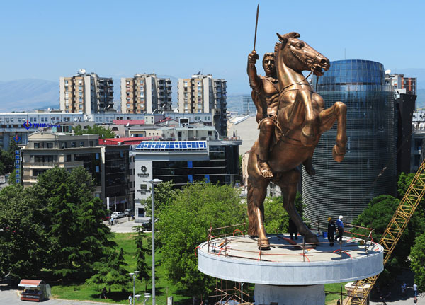 Alexander the Great Statue - Skopje
