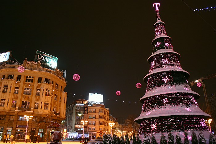 christmas lights match music