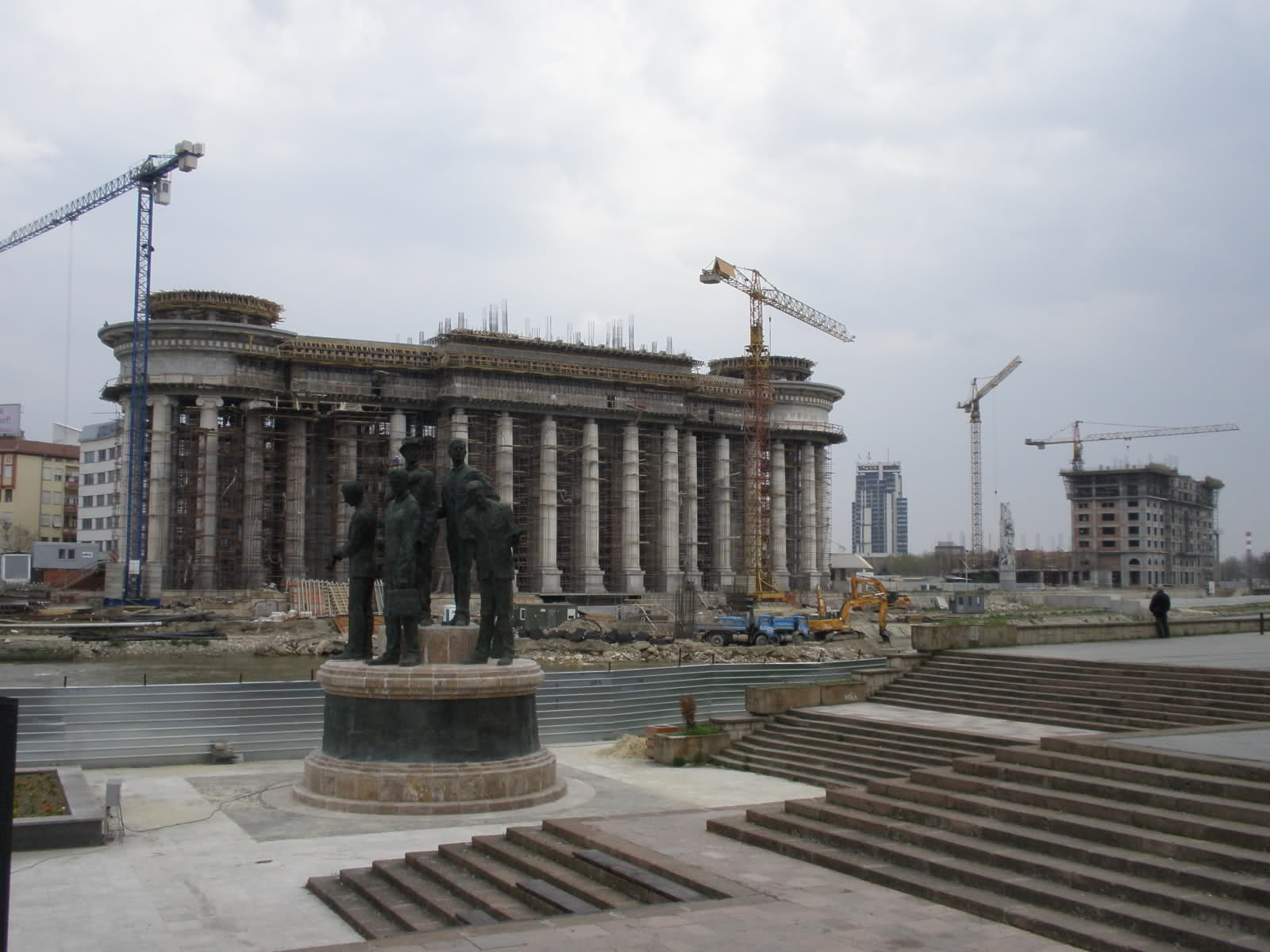 Archaeological Museum of Macedonia - Under Construction