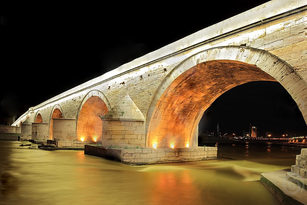Stone Bridge - Skopje, Macedonia