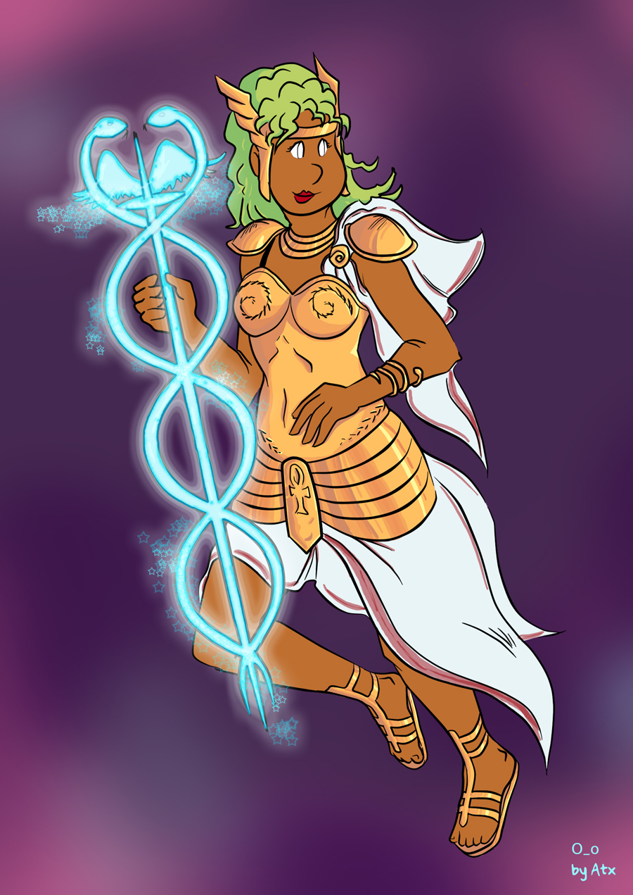 Ilustracion fanart: Promethea