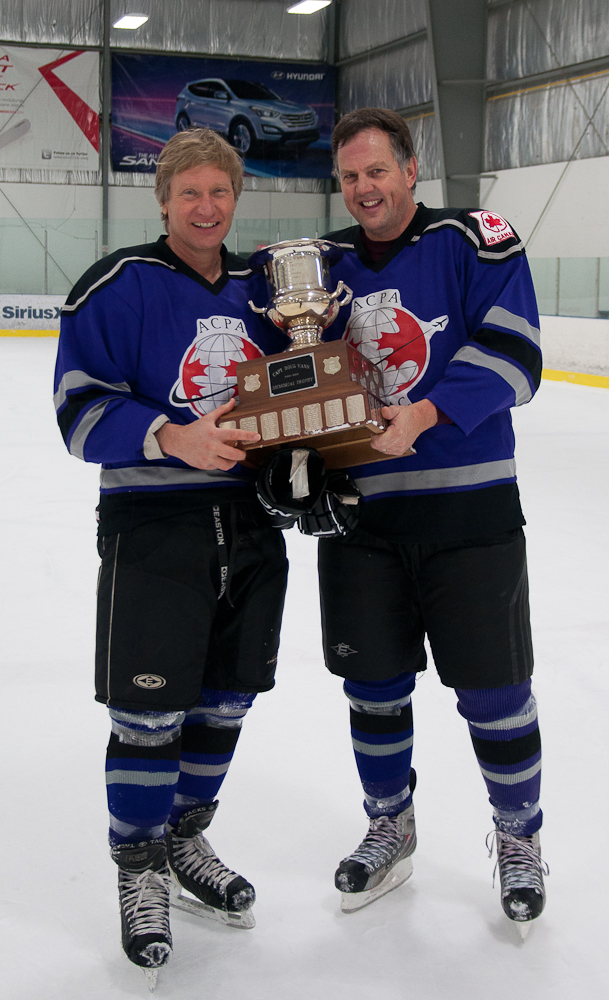 Team Captain Ken Russel and Colin Ward