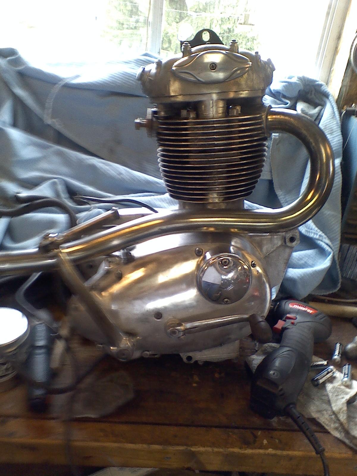 BSA 441 Motor