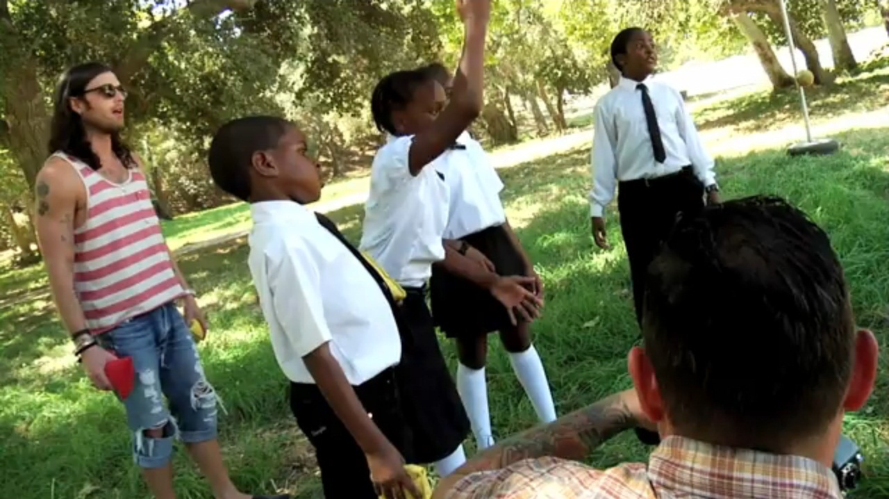 Making of the Video Radioactive (17 Aug 10)