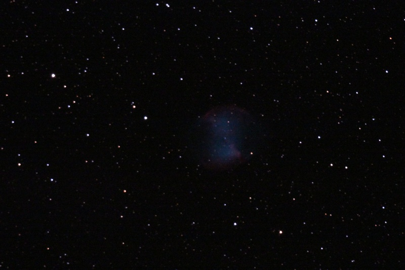 M27 Dumbbell Nebula - DSLR