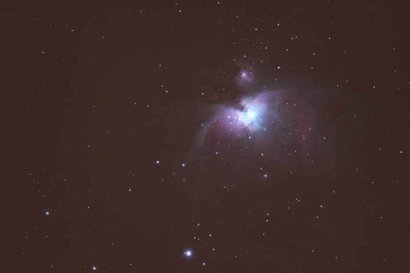 M42 Orion Nebula - DSLR